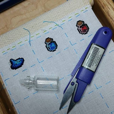 Cross stitch cuteness!